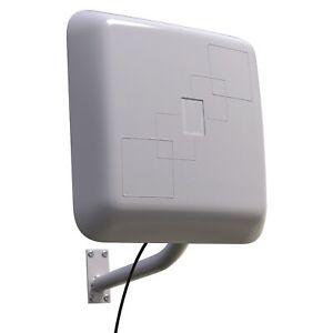 WLAN Antenne Außenantenne WiFi Dualband Outdoor für W-Lan Router 5m Kabel SMA