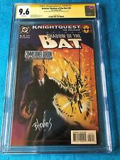 Batman: Shadow of the Bat #28 - DC -CGC SS 9.6 NM+ -Signed by Stelfreeze Blevins