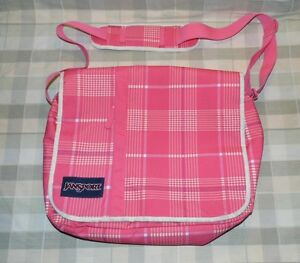 "Jansport Nylon Pink 15"" Laptop Messenger Bag TXJ0"