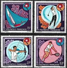 """1971 """"French Polynesia"""" South Pacific Sports Games, complete set VF/MNH, CAT 58$"""