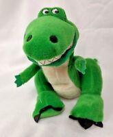 "The Walt Disney Pixar Toy Story ""REX"" Dinosaur Bean Bag Plush Green Dinosaur"