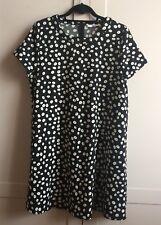 BNWoT Stylish Mango Shift Dress, Size L, Black