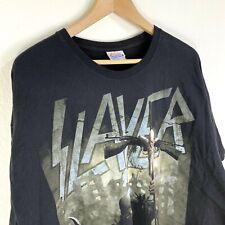 Slayer Thrash Metal Skull Helmut Soldier Graphic T Shirt Mens XXL Black 2009