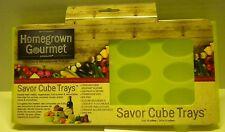 Home Grown Gourmet Scthg Savor 12-cube Tray, Green