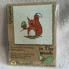 Mouseloft stitchlets CROSS STITCH KIT ~ IN THE WOODS ~ Cyril SCOIATTOLO ~ NUOVO