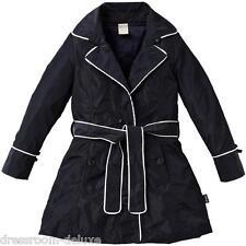 NEU Jottum BIARRITZ Designer Trenchcoat Mantel 104 4Y UVP179€ coat manteau navy