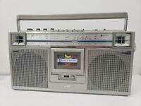 JVC stereo radio Cassette recorder Deck model No. RC-656W
