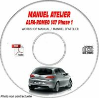 147 PH1 - Manuel Atelier CDROM ALFA FR Expédition - --, Support - CD-ROM - DVD-