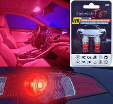 LED 5050 Light Red 194 Two Bulbs Rear Side Marker Tail Parking Replace OE Bright