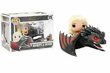 POP! Rides: Game of Thrones: Daenerys & Drogon #15 - Genuine / Official Funko