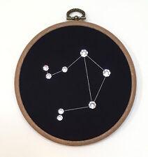 LIBRA made with Swarovski Crystals - Handmade Constellation Zodiac Wall Art