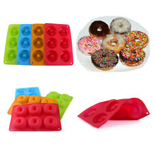 Us Silicone Donut Mold Donut Mould Pan Baking Tray Bagels Cake Biscuit Muffins