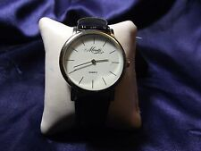 Unisex Moretti Watch with Genuine Leather Band  **Beautiful** B19-470