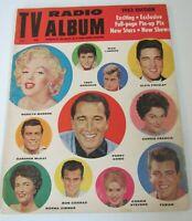TV Radio Album Magazine (1962) Marilyn Monroe/ Elvis Presley Cover JK129