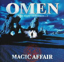 CD MAGIC AFFAIR - OMEN ( THE STORY CONTINUES .... 12 TRACKS 2 BONUS TRACKS )