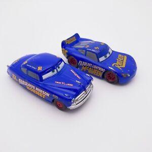 Disney Pixar Cars Diecast 1:43 Fabulous Hudson Hornet Fabulous Lightning McQueen