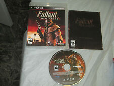 Fallout: New Vegas (PlayStation 3, PS3) complete