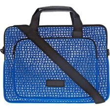MARC by MARC JACOBS Neoprene Commuter / Laptop Bag, Skipper Blue, RRP £145