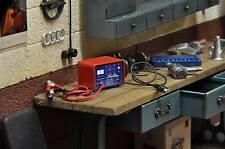 KFZ Batterie Battery Charger Ladegerät Werkstatt Diorama Model Deko Zubehör 1/18
