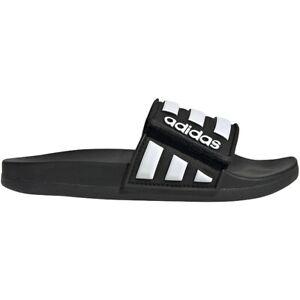 adidas Youth Adilette Comfort Adjustable Slides Sandals Flip Flops
