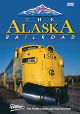 Alaska Railroad DVD Pentrex Anchorage to Fairbanks Whittier Denali AK F7-A GP40s