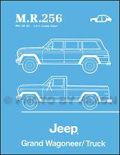 Jeep Grand Wagoneer J10 J20 Truck Body Manual 1984 1985 1986 1987 1988 Pioneer