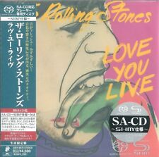 The Rolling Stones - Love You Live  SACD 2011 JAPAN OBI UIGY-9070  VERY RARE SHM
