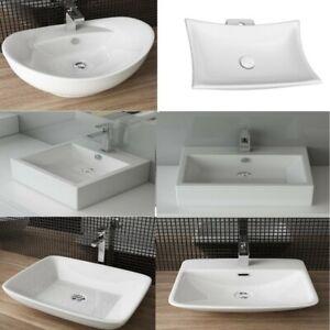 Design Mineralguss Aufsatzwaschbecken Waschbecken Waschtisch Gussmarmor Keramik