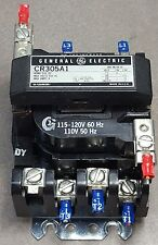 GE MOTOR STARTER Model# CR305A1. 600VAC@9A NEMA SIZE 00 (1PH & 3PH)