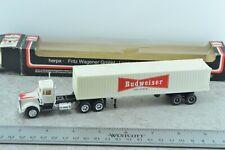 Herpa Kenworth Tractor Trailer BUDWEISER 1:87 HO Scale
