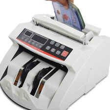 Money Bill Counter Cash Counting Machine Bank Currency Counterfeit Auto Banknote
