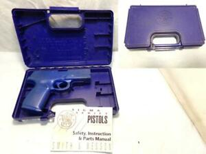 Factory SMITH & WESSON S&W Molded Gun Box & Accessories for 686 Pellet Air Gun