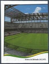 PANINI WORLD CUP 2014- #014-ARENA DA BAIXADA-CAPACITY 42,247-LEFT HALF