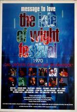ISLE OF WIGHT 1970 - 1997 - Filmplakat - Hendrix - Doors - Dylan - Who