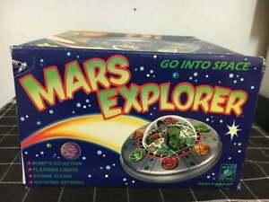 "Rare - Masudaya Mars Patrol - Mars Explorer ""Go into Space"" UFO Saucer 1998 -New"