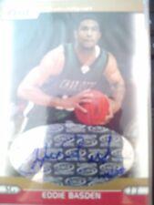 2005 Hit Sage Eddie Basden Autograph Auto Rookie RC #145/250