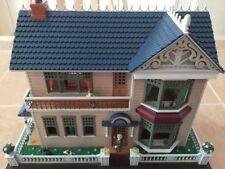 RARE Enesco Victorian Vignette Doll House Multi-Action/Lites Music Box BOXED