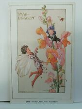 M. W. Tarrant The Snapdragon Fairies Postcard