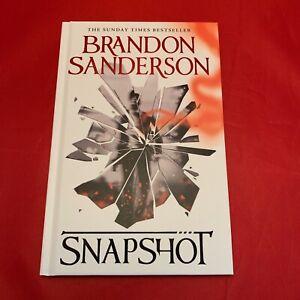 Snapshot - Brandon Sanderson - Limited Signed Numbered Hardback - BRAND NEW