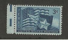 US 938 @ (1945) EFO: Guttersnipe w/EE dash (Texas Statehood)