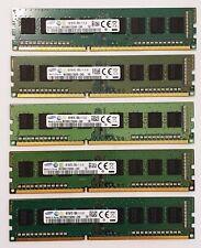 Samsung 4GB DDR3 1600MHz Desktop PC RAM ~~ PC3-12800U Memory 240pin 1Rx8 DIMM Q