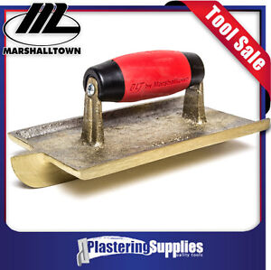 Marshalltown Groover 203mm x 114mm Bronze Concreters Resilient Handle 10439