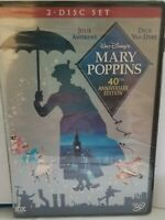 40th ANNIVERSARY EDITION  WALT DISNEY'S MARY POPPINS  ANDREWS VAN DYKE DVD