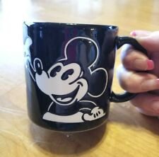 Disney's Mickey Mouse Coffee Cup/Mug. Black and White. Super Cute!