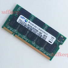 Samsung 1GB PC2100 DDR266 266MHz Sodimm Laptop Memory RAM Low Density 1G 266MHZ