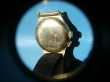 Rare Longines Weems second setting pilot wristwatch in gold filled case.