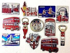 LONDON MAGNET FRIDGE ICONS NOVELTY HOLIDAY SOUVENIR SHINY NEW BEAUTIFUL MAGNET