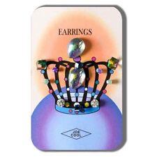 Butterfly Crystal Glass Fashion Earrings