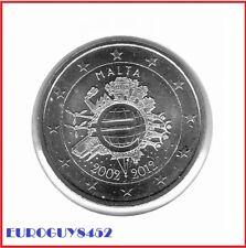 MALTA - 2 € COM. 2012 UNC - 10 JAAR EURO