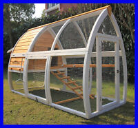 Pet Imperial® Dorchester Large Chicken Coop Hen Poultry Ark House Hutch Run Nest